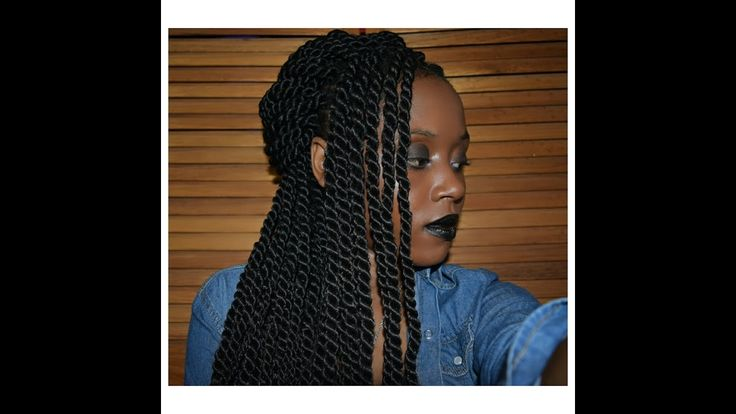 3 WAYS TO STYLE YOUR ROPE TWISTED BRAIDS💇//Tutorial💆