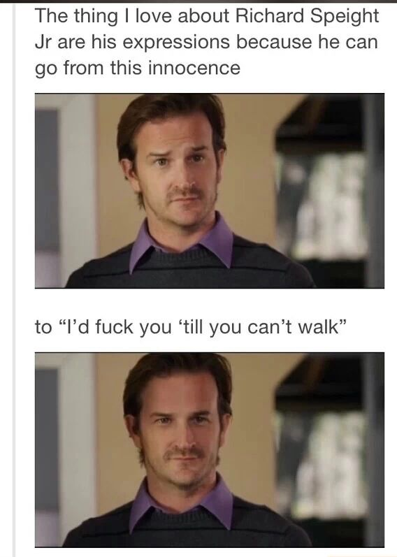 Richard speight jr. dayum ;)