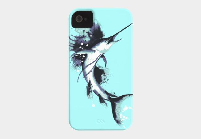 SAILFISH LEAP Case For Iphone Or Galaxy : MCNALLYART COLLECTIVE with ...