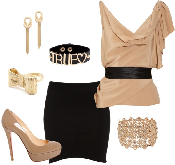 """""""Tenue de Soirée"""" by laurie-directioner-forever ❤ liked on Polyvore"""