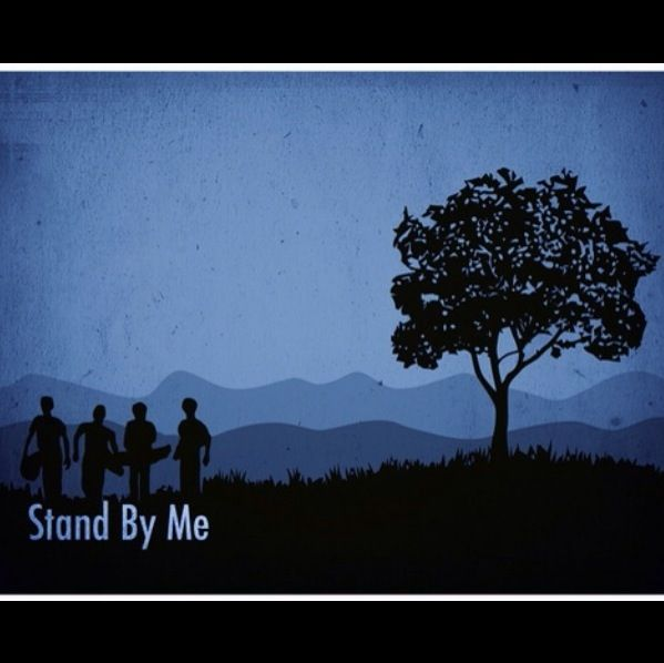 Stand by Me, directed by Rob Reiner, based on The Body by Stephen King, and starring Wil Wheaton, River Phoenix, Corey Feldman, Jerry O'Connell, and Kiefer Sutherland
