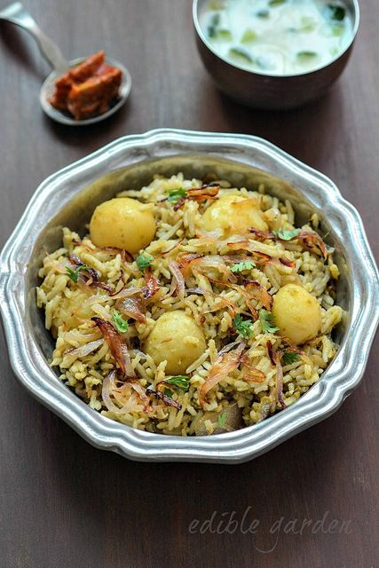 Baby potato biryani: learn how to make baby potato biryani, a flavourful and easy vegetarian biryani recipe with baby potatoes. I have also used tomatoes and mint in the homemade spice paste used to prepare this biryani. Biryani to me is special-occasion food. Right from childhood, a biryani meal has always stood for something –...Read More »