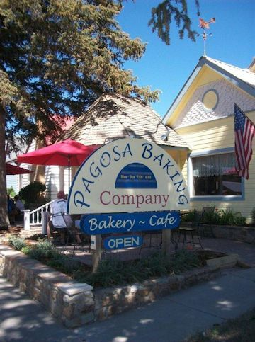 This place is amazing. Best cinnamon streusel muffins ever! - Pagosa Baking Company Pagosa Springs Colorado Bakery Cakes Breads Fresh Baked Goods Cafe Bakeries