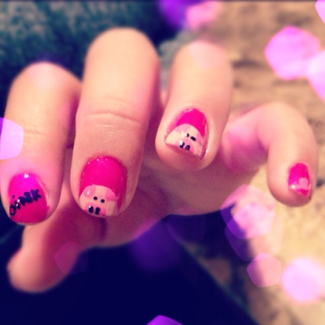 Best 25+ Pig nails ideas on Pinterest | Pig nail art ...