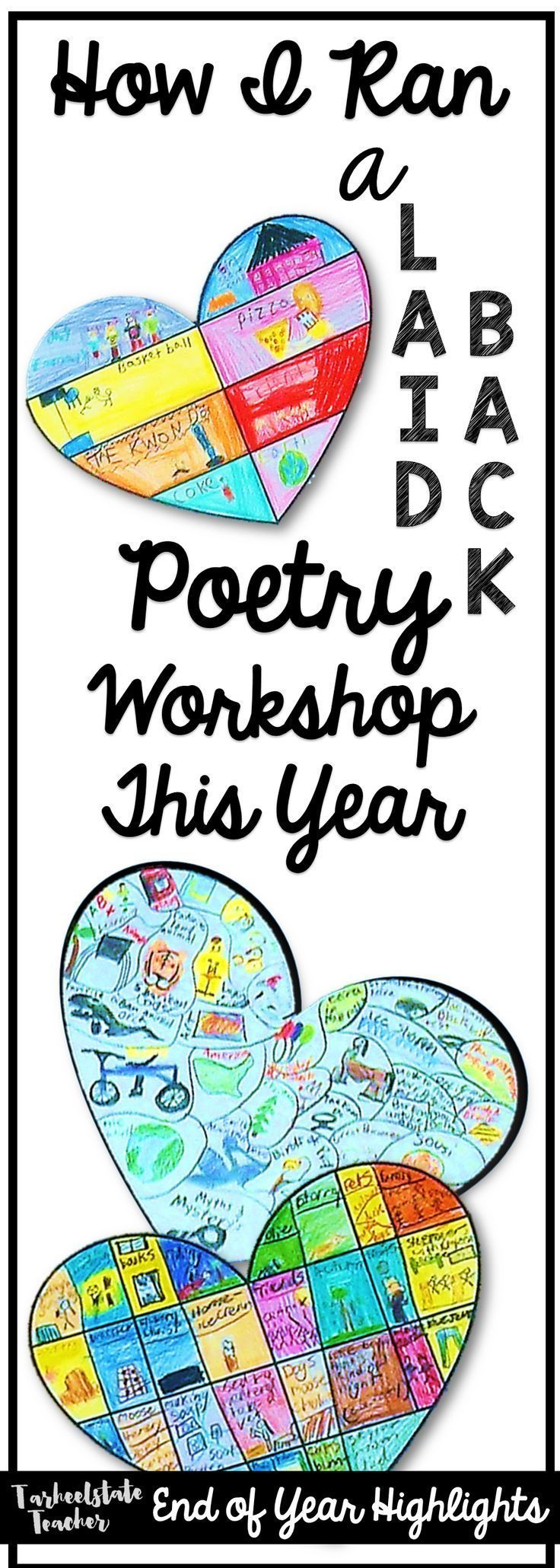 Poetry Workshop in 4th Grades, 5th Grades: How to run a laid back, meaningful poetry workshop in the uppergrades elementary classroom; poetry workshop ideas; reading and writing workshop
