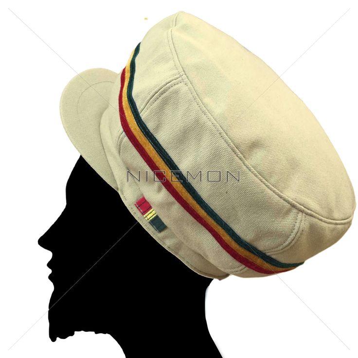 Rasta Hat Cap Selassie Africa Jah Rastafari Handmade Reggae Jamaica Negus XL