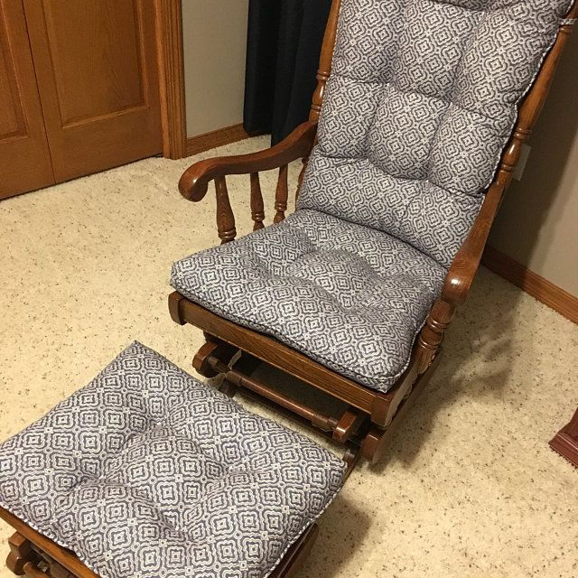 Glider Cushions Rocker Cushions Chair Cushions Glider Replacement Cushions ในป 2020 ม ร ปภาพ บ าน หมอน