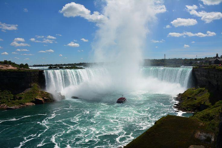 An amazing view of Niagara Falls, USA