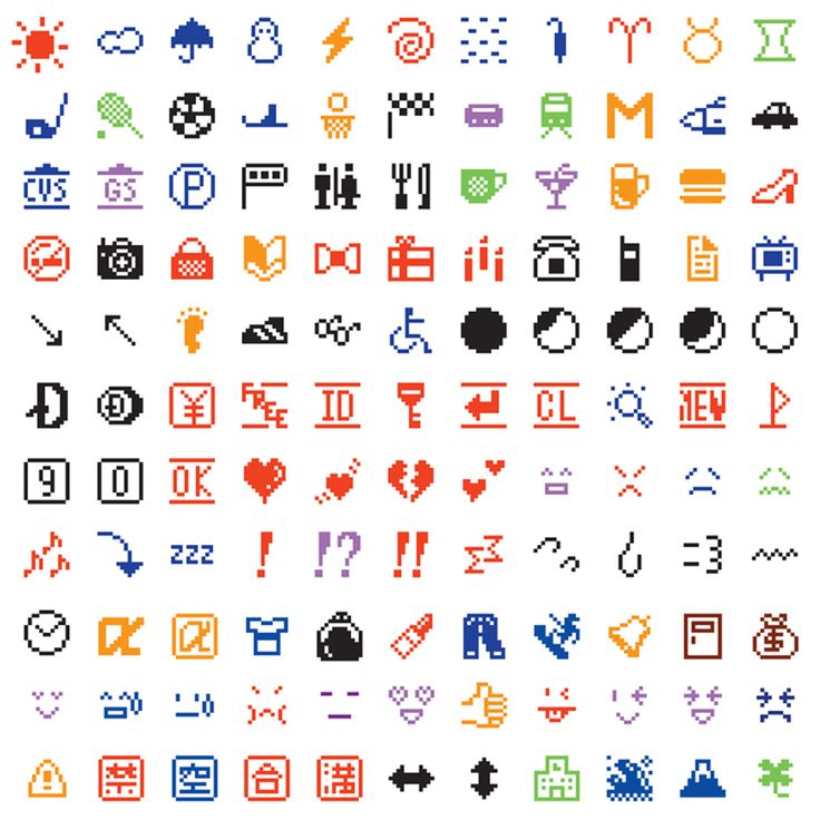 MoMA adds original emojis to permanent collection