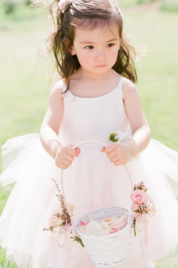 This little love looks like a princess bride herself! Photography by austinwarnock.com