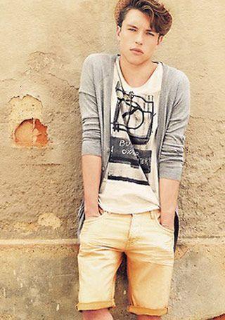 プリントTシャツ×麦わら帽子で夏カジュアルに(メンズ) | Italy Web