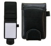 Taskumuistio A7-avolehtiöllä musta keinonahka+kynäpidike | 3,90e  Olisi ihan himputin kätevä :O