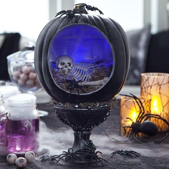 diy spooky halloween diorama - Halloween Diorama Ideas