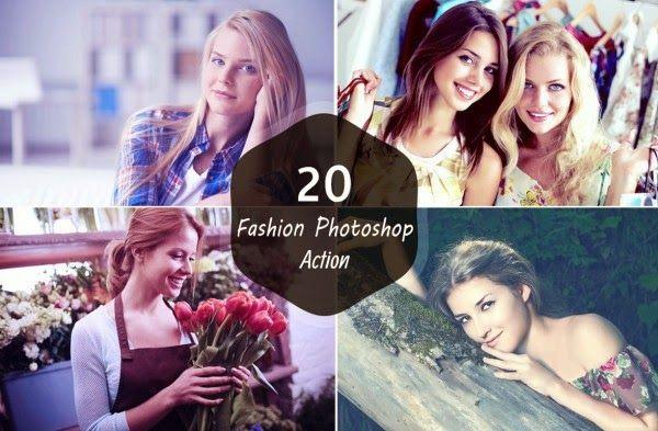 Photo Resource Kingdom: 20 PREMIUM FASHION PHOTOSHOP ACTION