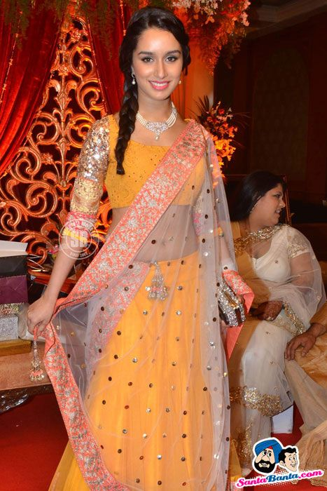 Shradha Kapoor at a Wedding Reception