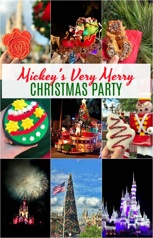 Mickey\u0027s Very Merry Christmas Party at Walt Disney World\u0027s Magic