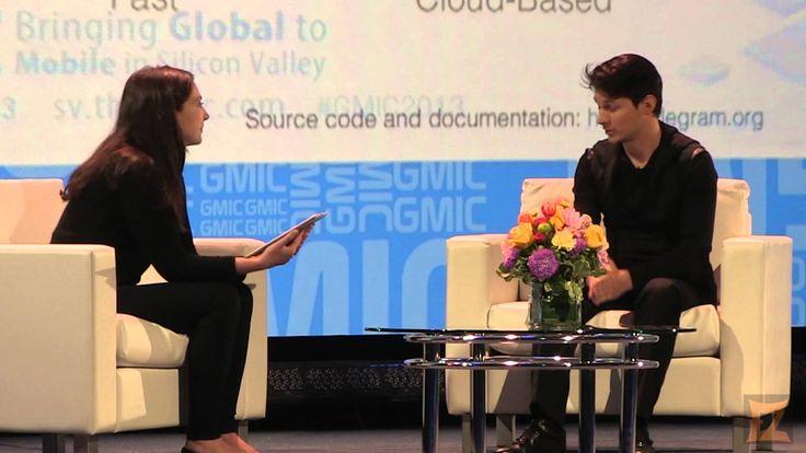 Pavel Durov, Founder/CEO VK & Telegram #gmic