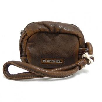 Diesel Box Warrior Geldbörse Geldbeutel - Kleine Tasche in braun