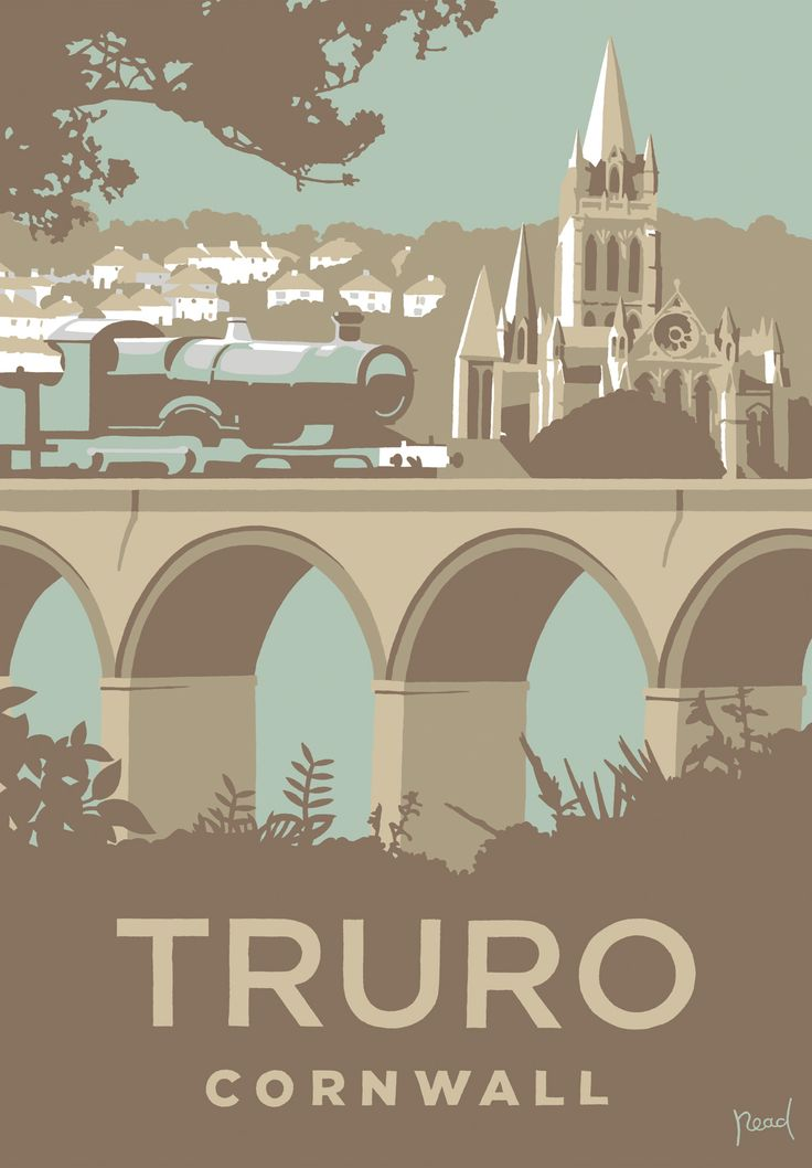 Truro (SR26) Town and City Art Print by Steve Read