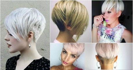 Modne Fryzury Damskie Krótkie Włosy 2018 Fryzury Pinterest