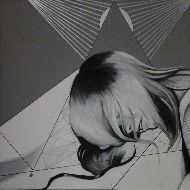 sacred geometry  Federica Poletti artwork 2014