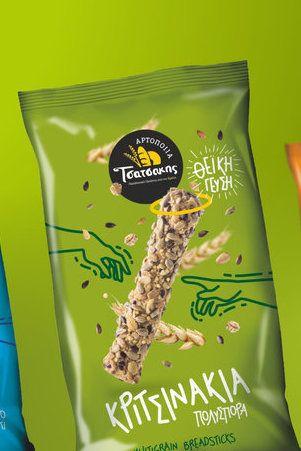 Leftgraphic - Tsatsakis Breadsticks #packaging #design #emballage #worldpackagingdesign #packaging #design #diseño #empaques #embalagens #パッケージデザイン #emballage @world.packaging.design.society www.worldpackagingdesign.com