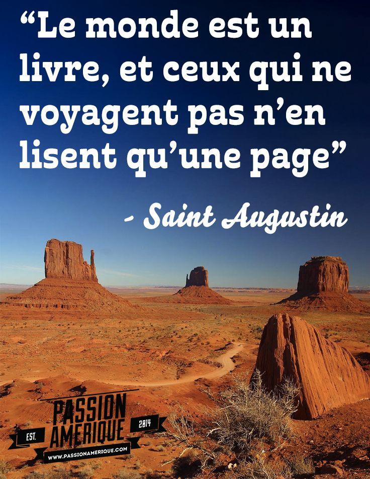 Citation de voyage magique... Photo : Monument Valley - www.passionamerique.com