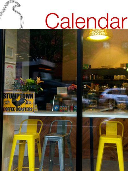 LARK Cafe -- Activity Calendar