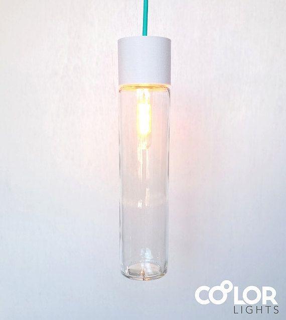 Customizable Pendant Light I800 White van CoolorLights op Etsy