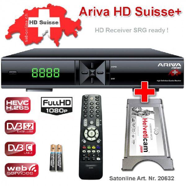 Ariva Hd Suisse Viaccess Sat Receiver Handy App Wlan Stick Festplatte