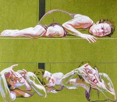 "Saatchi Art Artist Cristina Troufa; Painting, """"Under the bed"""" #art"
