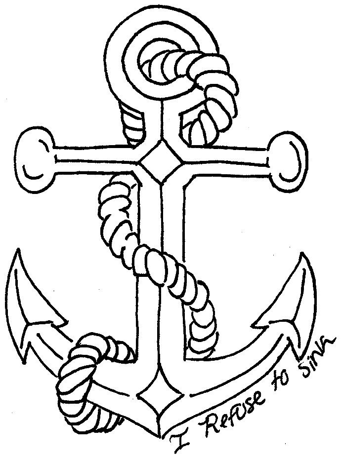 Gallery For gt Anchor Rope Drawing