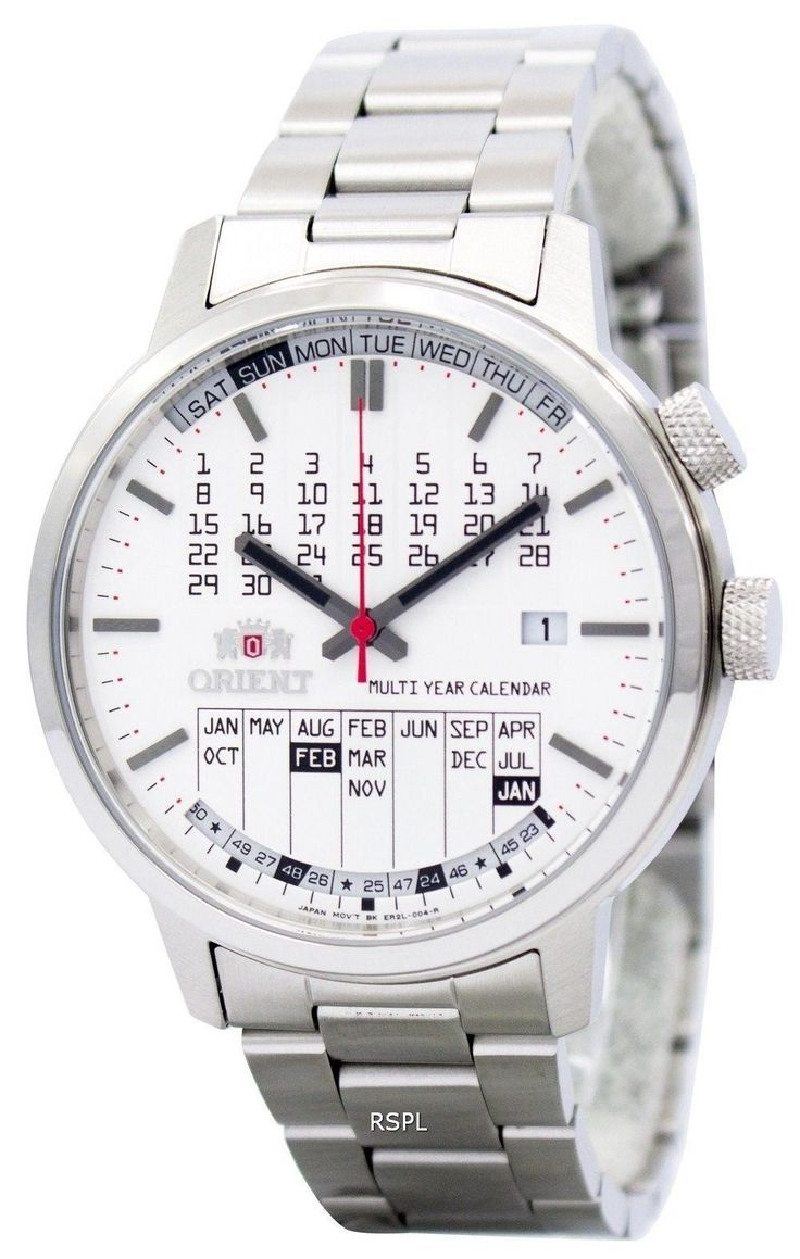 Orient Stylish And Smart Multi-Year Calendar ER2L004W Mens Watch | eBay