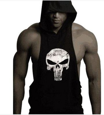 Punisher Extreme Sleeveless Hoodie