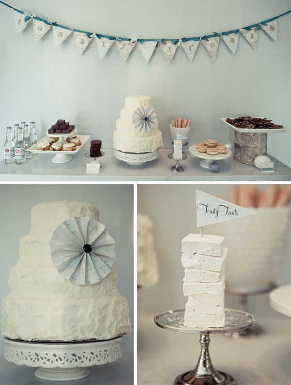 Baptism ideas for new baby. Love the soft grey blue.