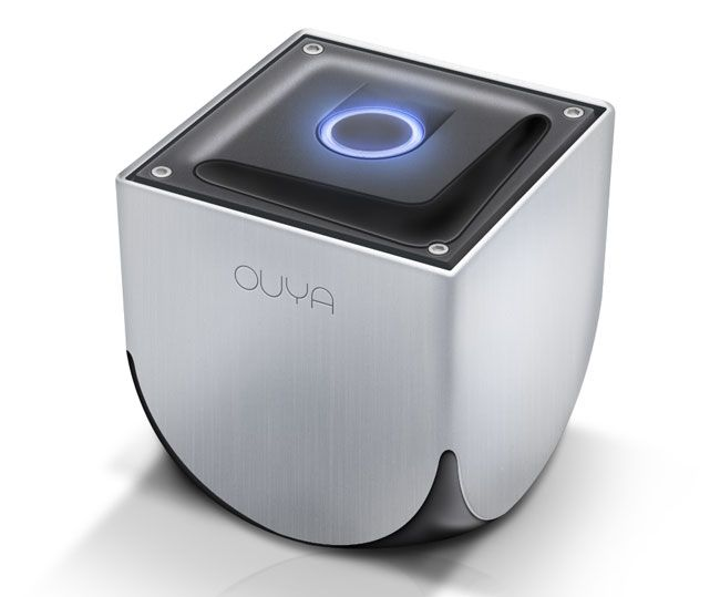 Ouya gaming console cost less than a Benjamin and all games are free to play. Follow link for preorder info.