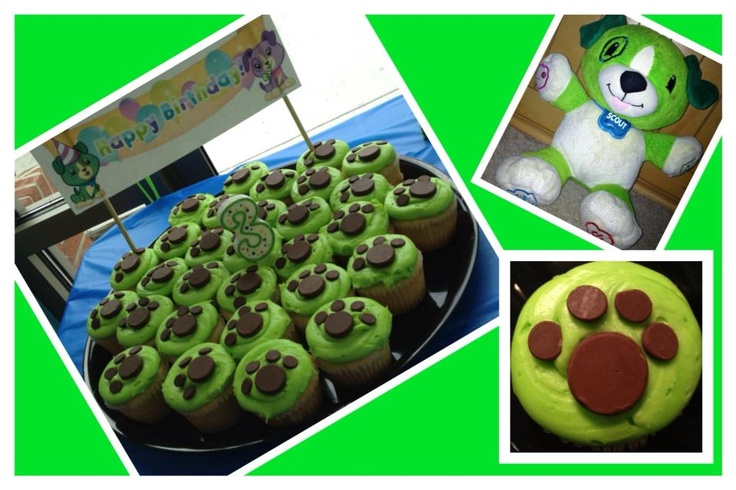 Leapfrog (leapfrog learning DVD series/scout & friends DVD series) bday party.