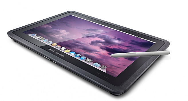 The Modbook Pro converts your MacBook into a tablet with Wacom digitizer pen integration