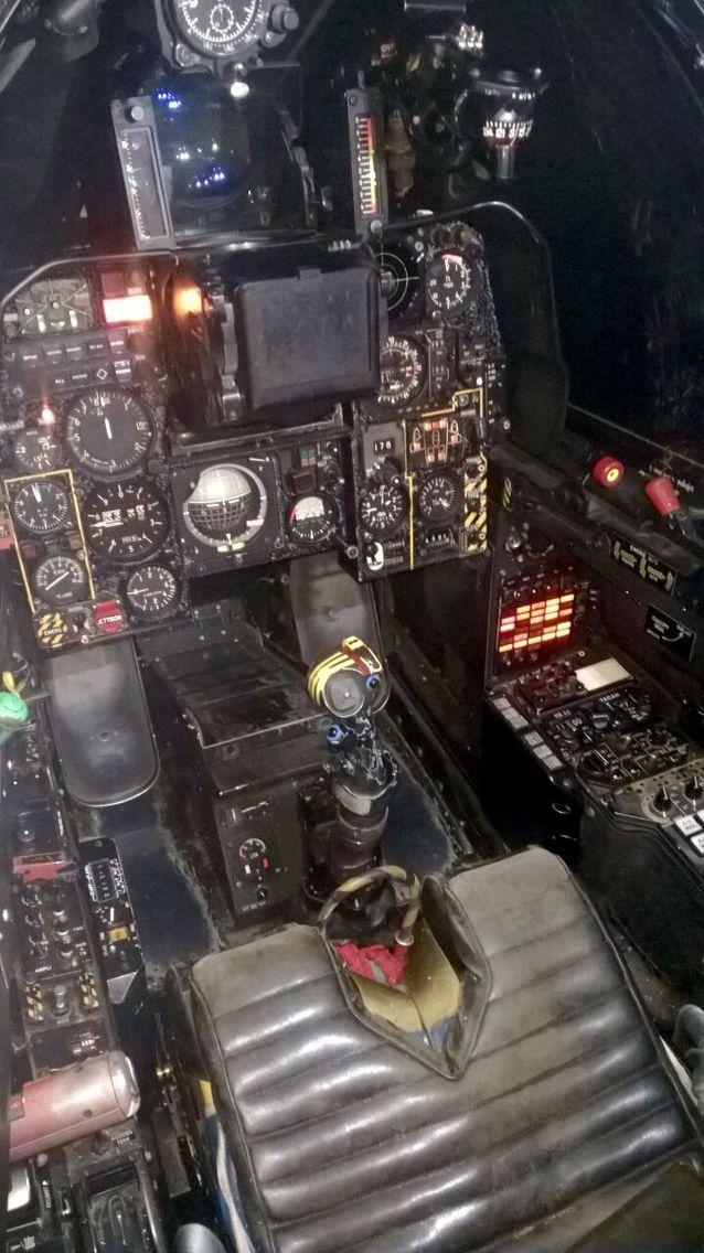 1 Squadron, Mirage F1AZ, South African Air Force. Flight simulator.