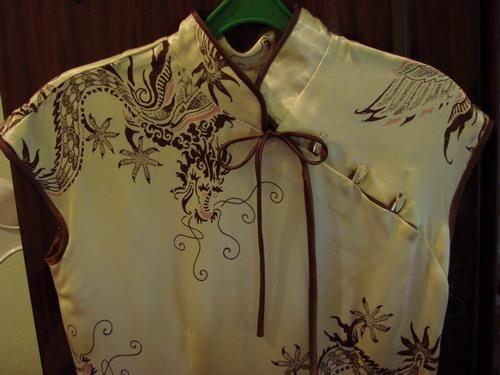 Платье китайский стиль выкройка