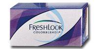 Freshlook Colorblends; mooie kleurlenzen voor een speciale gelegenheid  Freshlook Colorblends zijn gekleurde maandlenzen verkrijgbaar in 12 verschillende kleuren.    Door het gebruik van zacht materiaal voelt de lens comfortabel aan. Deze kleurlens is ook geschikt voor mensen met donkere ogen. Het kleurresultaat kan niet worden gegarandeerd aangezien dit door uw natuurlijke oogkleur kan worden beïnvloed.