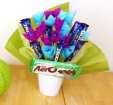 how to make ferrero rocher bouquet step by step