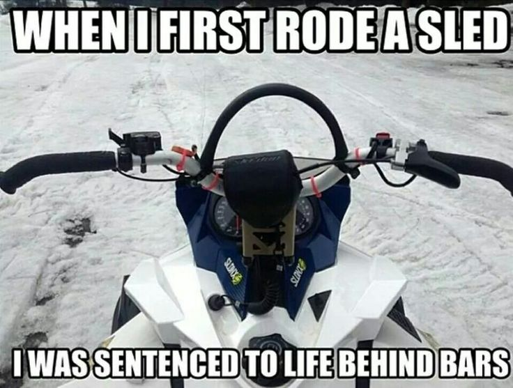 Best Snowmobiling Humor Images On Pinterest Haha Cars And Decal - This is what happens when you fly a snowmobile off a cliff