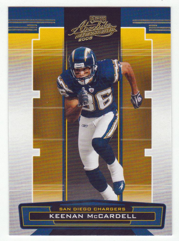 Keenan McCardell # 122 - 2005 Playoff Absolute Memorabilia Football