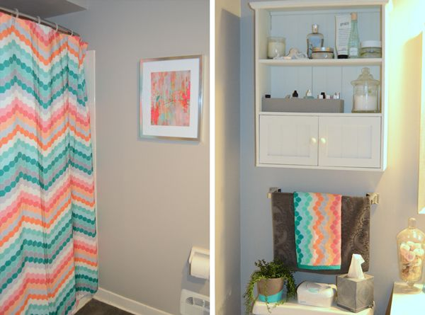 Target Chevron Shower Curtain @Chandler Neville Neville Schmidt We Need  This!