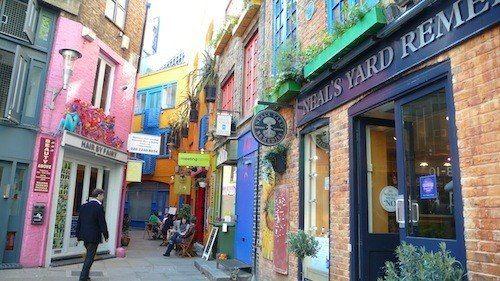Rincones secretos de Londres: Neal's Yard | DolceCity.com