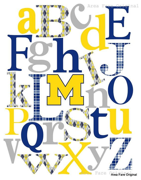somehow i will get this into our home in the future :): Custom College, X10 Custom, Team Alphabet, 15 00, Alphabet Printuniversity, Abc Nursery, X10 College
