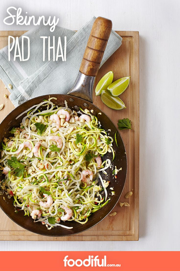 Pad Thai is a take-away favourite, but usually it can be quite high in fat. This lighter take is paleo-friendly and uses sesame oil. This Thai recipe serves 4 and takes only 15 minutes.