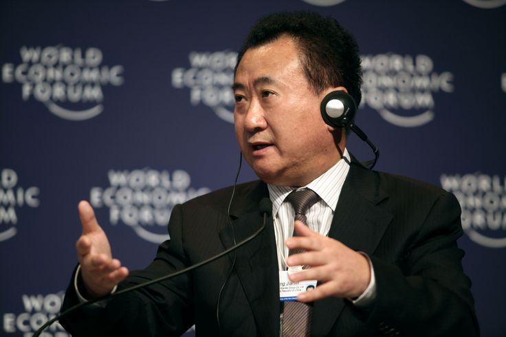 CHINA's WANG JIANLIN beats Alibaba's Ma in Asia billionaire wars , The richest man in Asia with $45 billion