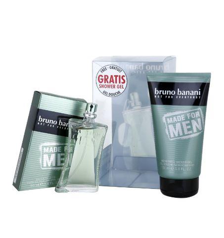 Bruno Banani Made for Men Eau de Toilette 1.7 oz/50 ml + 5.0 oz/150 Sh – CAfragrance